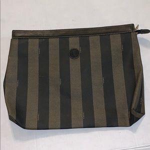 Fendi vintage clutch bag